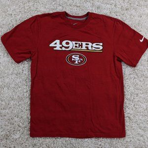 Nike San Francisco 49ers Shirt Men Large Red A32